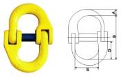 链条连接环和调节器