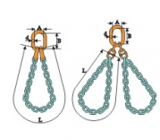捆绑链条索具
